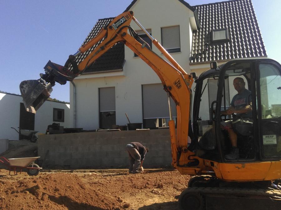TORIC BAU Goldbach, Tiefbau, Erdarbeiten, Außenbereiche