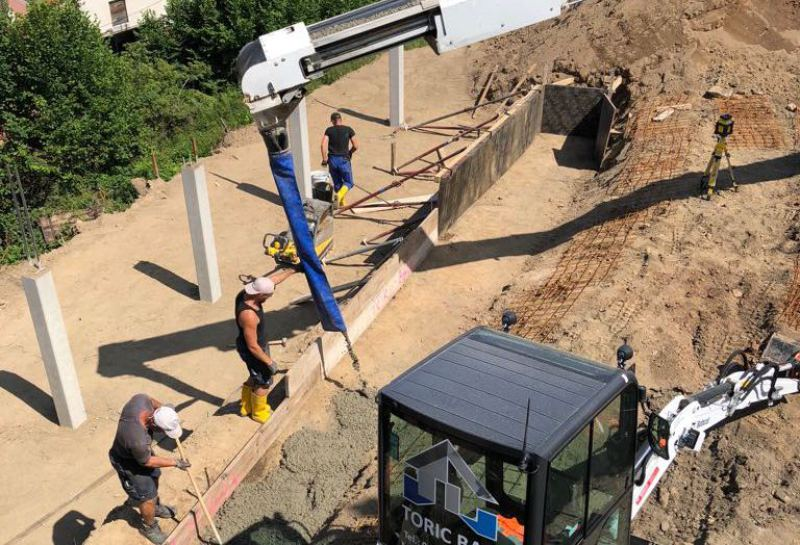 TORIC BAU – Beton & Stahlbeton Arbeiten, Juni 2018