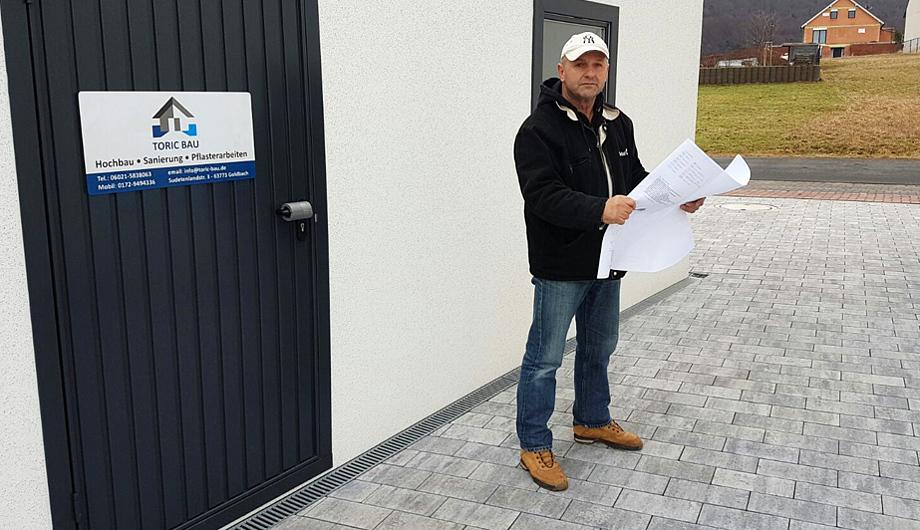 TORIC BAU GOLDBACH - Bauplanung, Hochbau, Sanierung, Außenanlagen, Kontakt